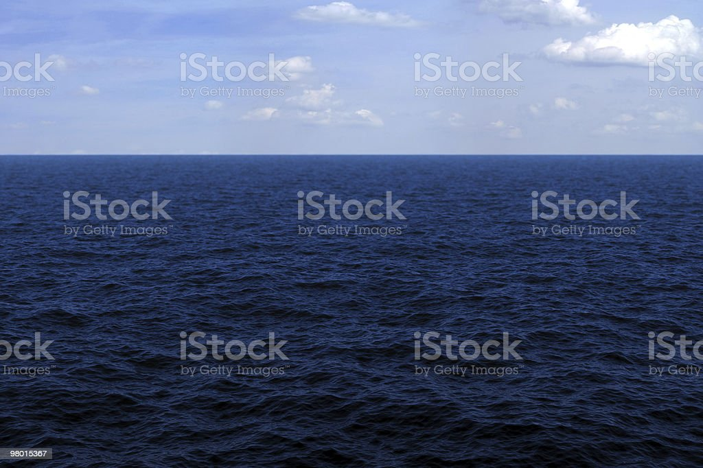 Ocean surface royalty-free stock photo