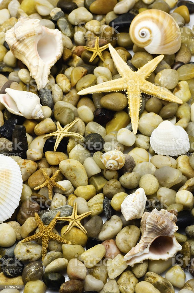 Ocean Themed Background royalty-free stock photo