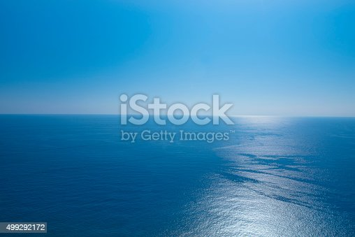 istock Ocean view in sunny summer day 499292172
