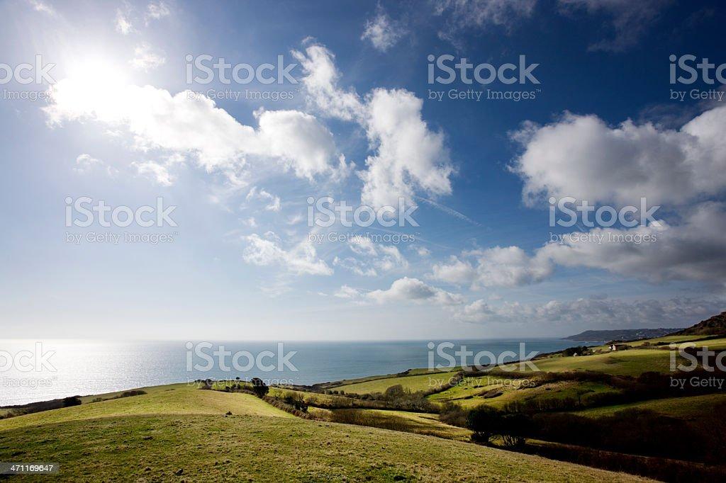 Ocean view royalty-free stock photo