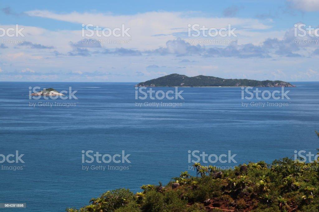 Ocean View to Aride Island, Praslin, Seychelles, Indian Ocean, Africa - Royalty-free Africa Stock Photo