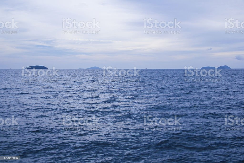 ocean water surface royalty-free stock photo