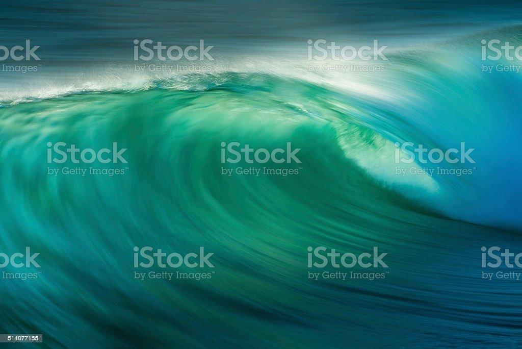Ocean Wave Breaking stock photo