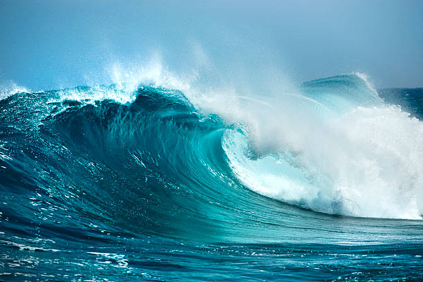 ocean wave - wave stock photos and pictures