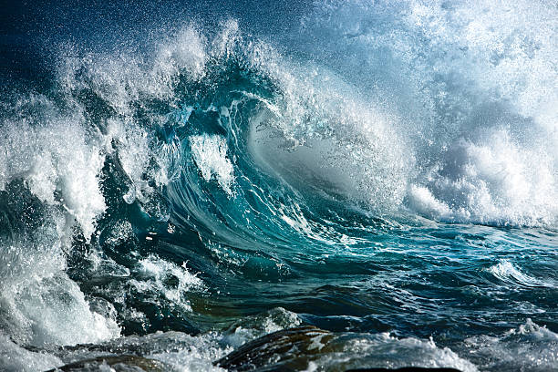 ocean wave - rough stock photos and pictures