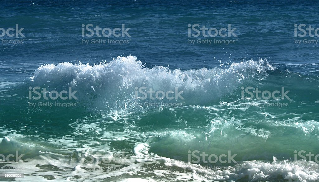 ocean wave royalty-free stock photo
