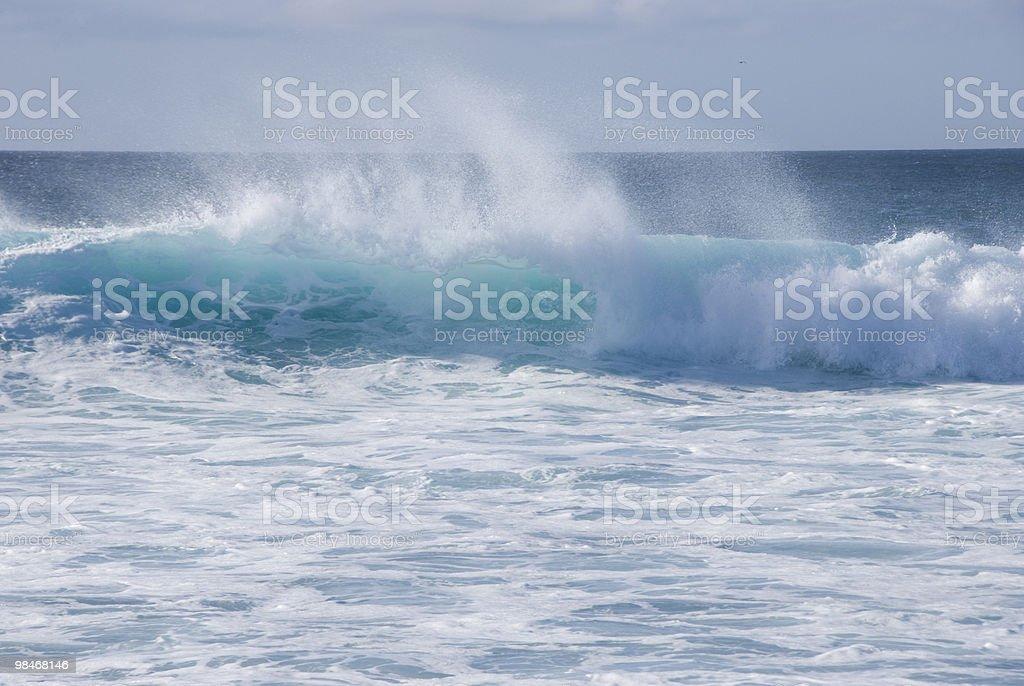 Onda oceano foto stock royalty-free
