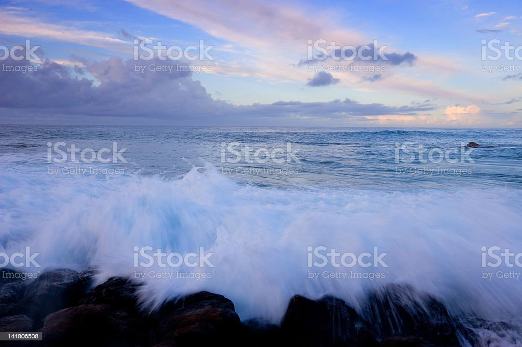 Ocean Waves royalty-free stock photo
