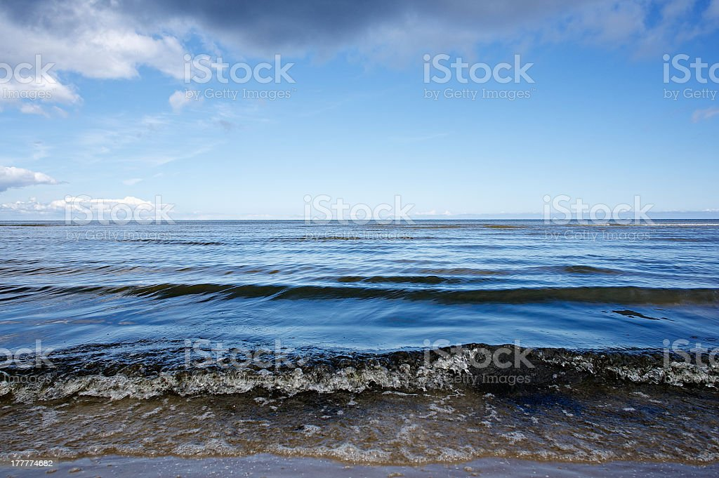 Ocean Waves royalty-free stock photo