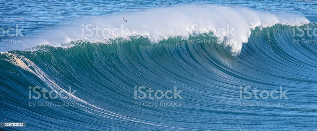 Ocean Waves stock photo