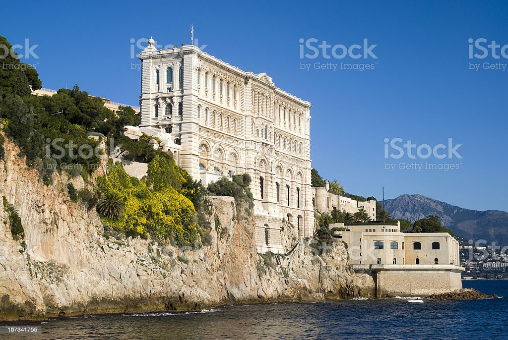 Oceanographic Institute in Monaco royalty-free stock photo