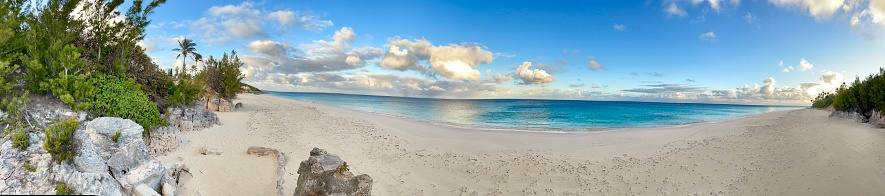 A view along the south shore of Bermuda
