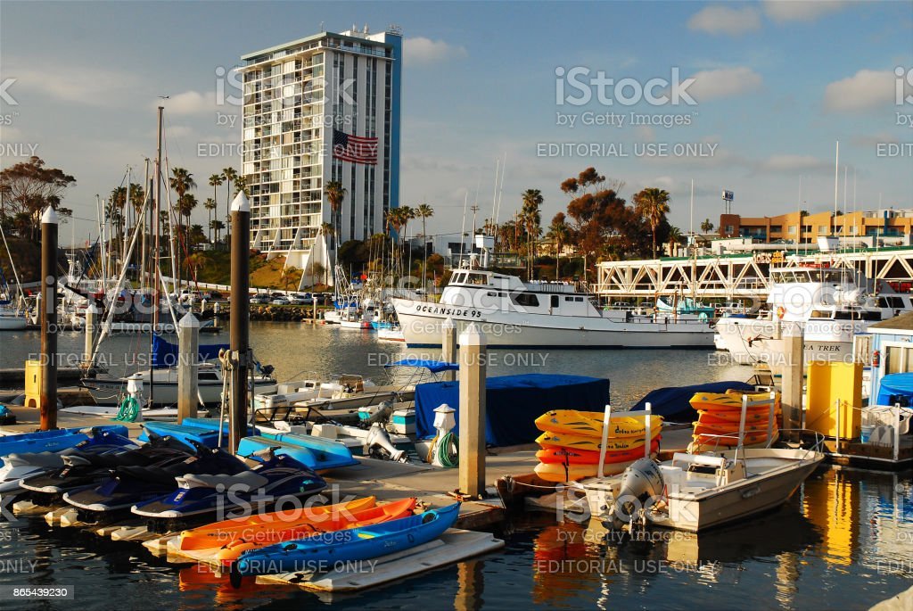 Oceanside, California stock photo
