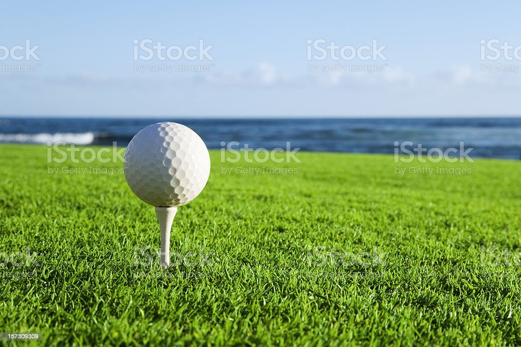 Oceanside Golf royalty-free stock photo