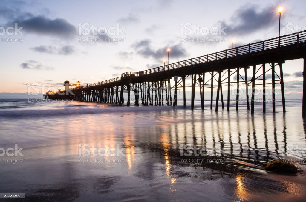 Oceanside Pier, California, Usa stock photo