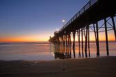 Oceanside Pier at sunset, Oceanside CA