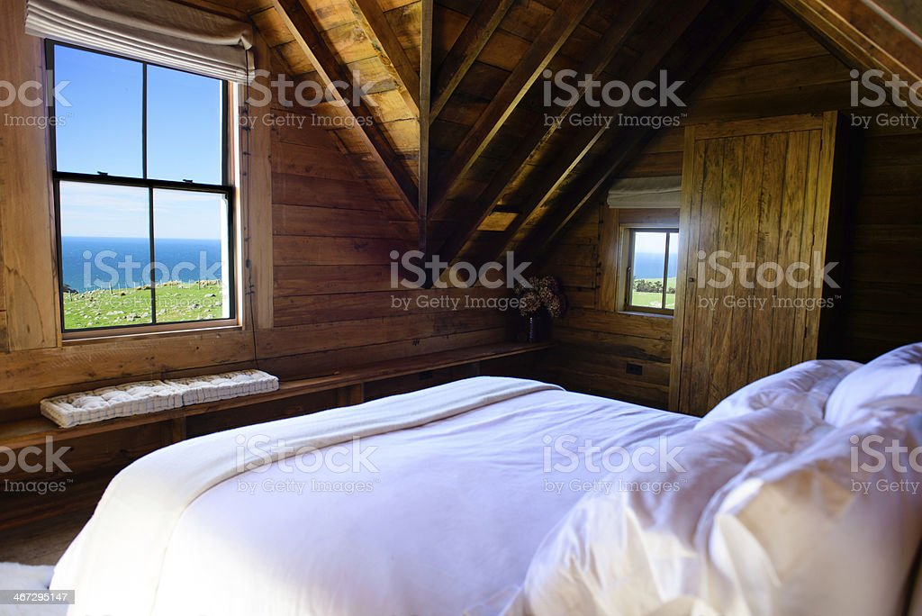 Oceanside Room stock photo