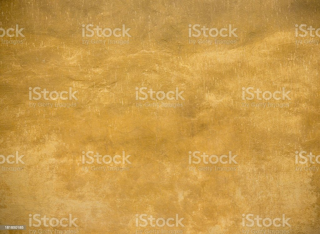 Ocher wall texture background, Pisa Tuscany Italy stock photo