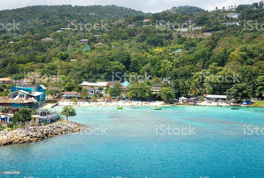 Ocho Rios in Jamaica stock photo