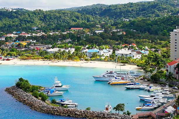 ocho rios jamaica - jamaica stock photos and pictures