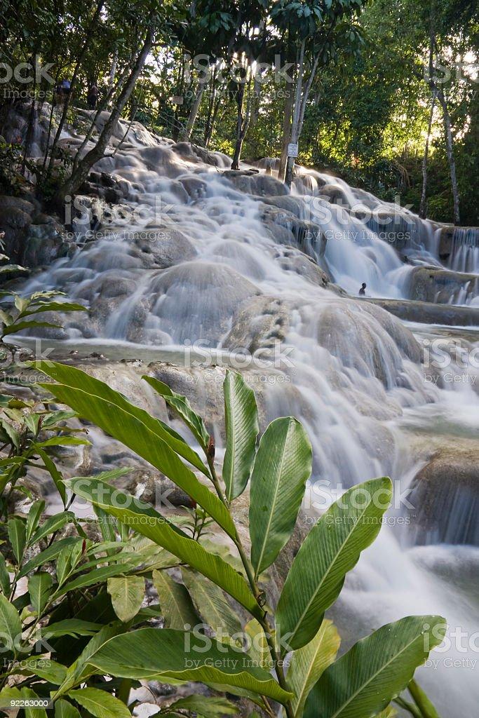 Ocho Rios Waterfalls royalty-free stock photo