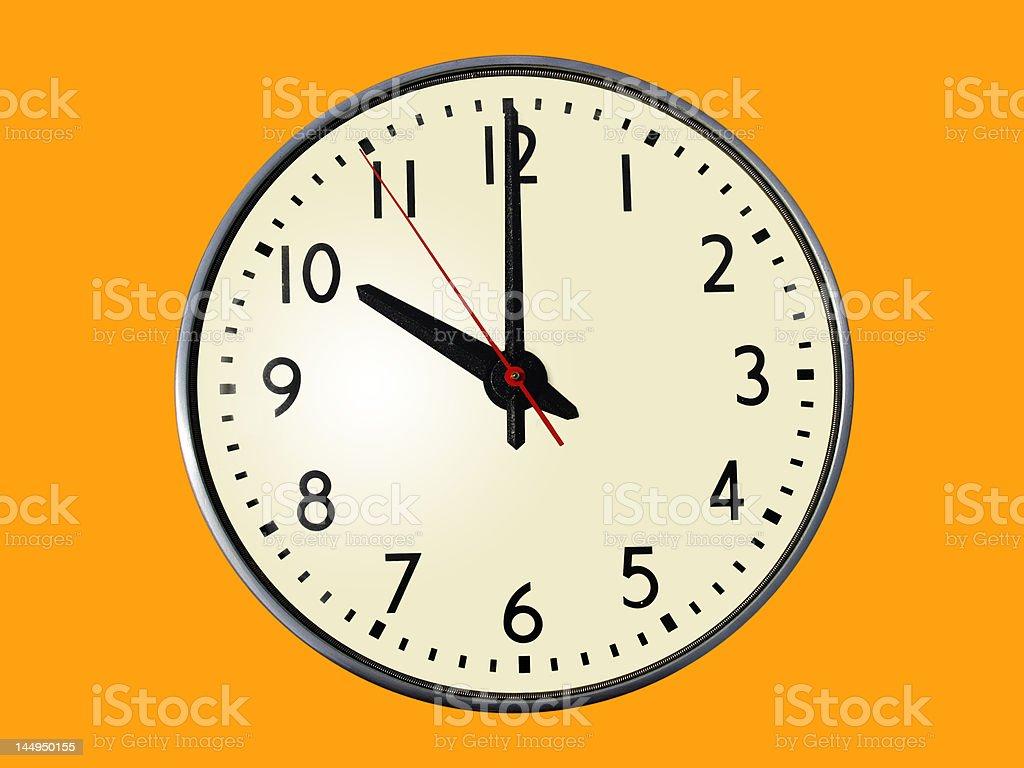 10:00 o'clock royalty-free stock photo