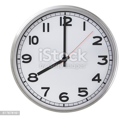 istock 8 o'clock 517678161