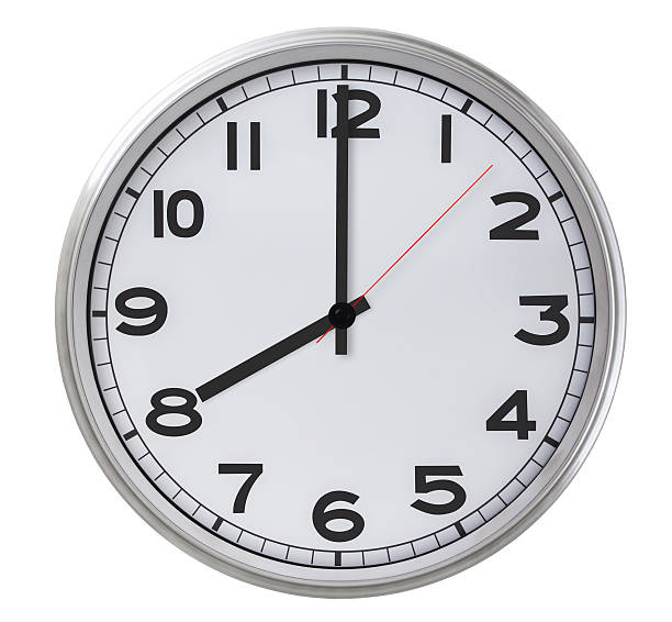 8 o'clock - number 8 stock pictures, royalty-free photos & images