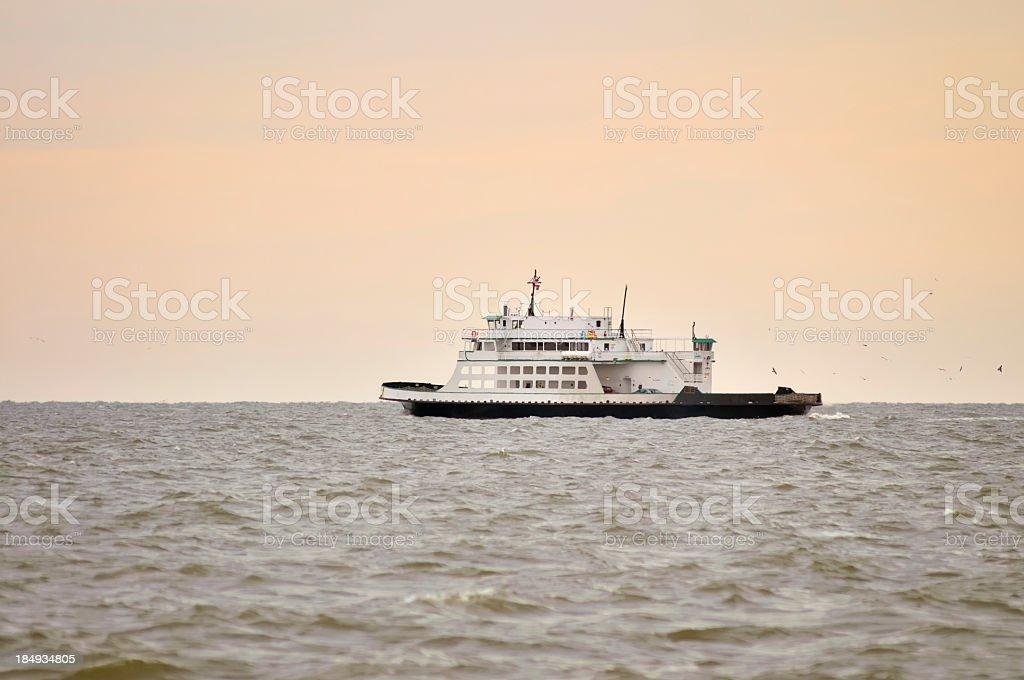 Ocracoke Cedar Point Ferry stock photo