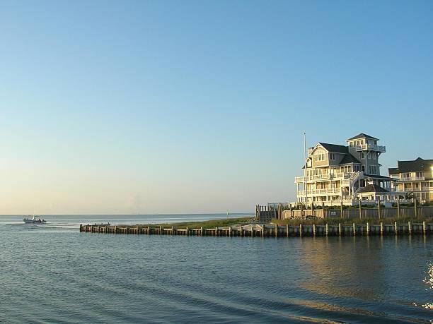 Ocracoke Island Housing stock photo
