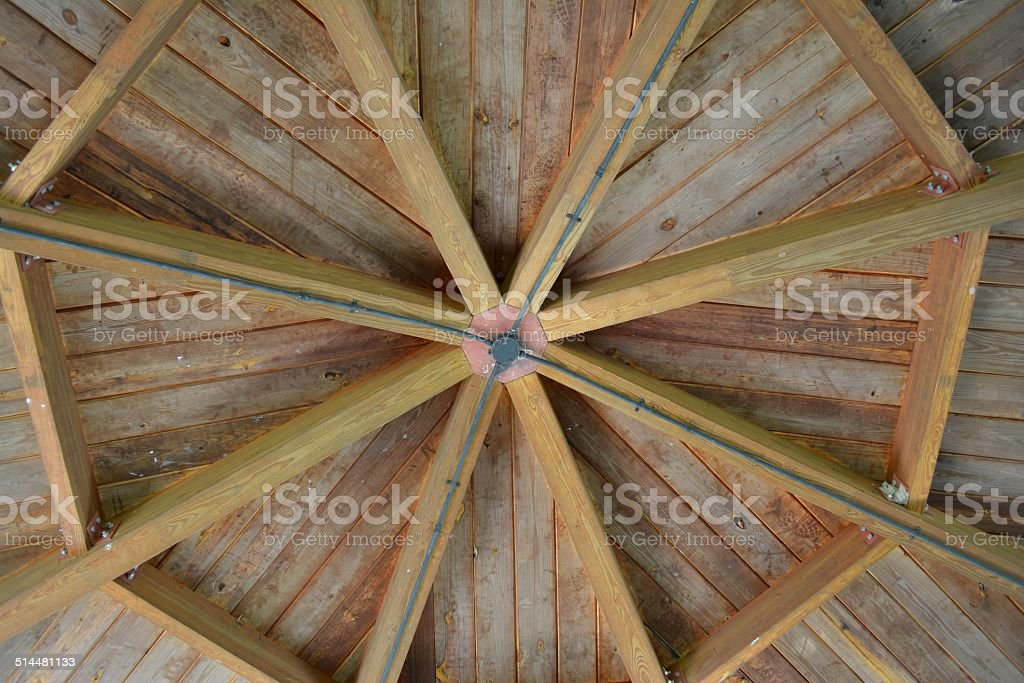 Octagon Ceiling stock photo