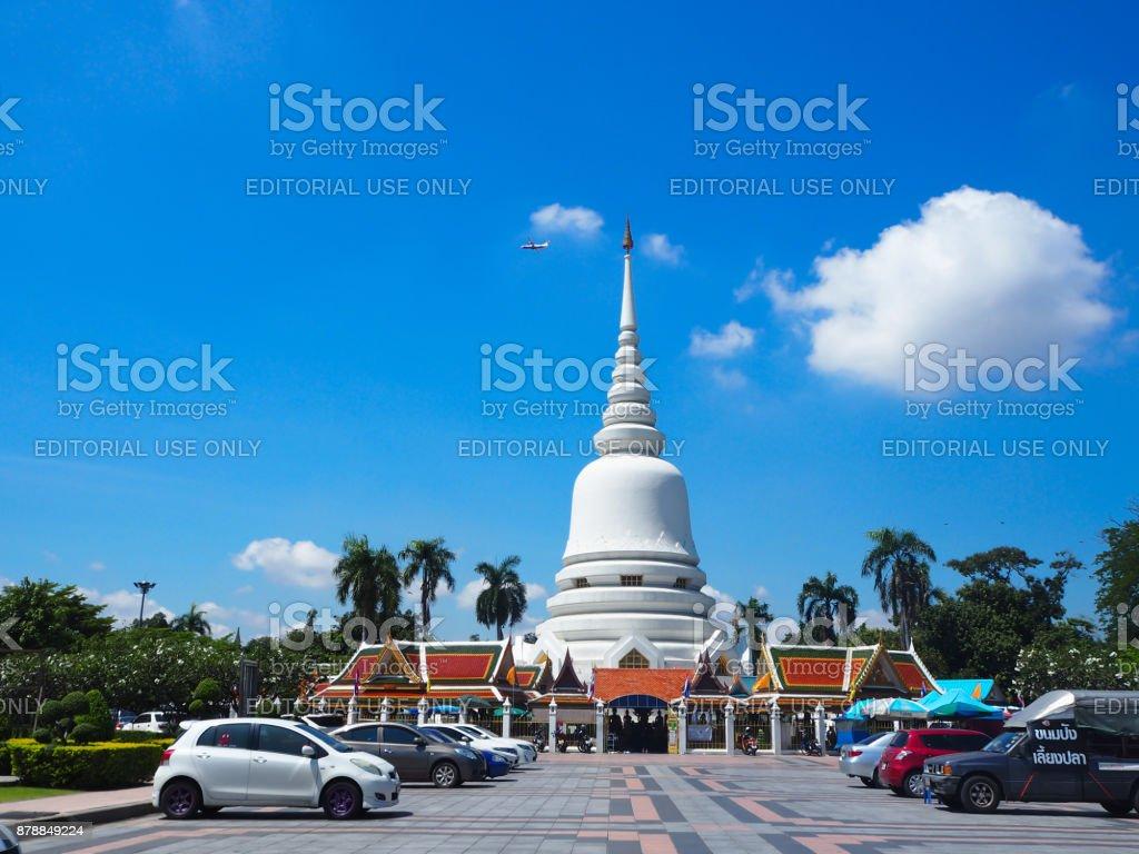 October 22, 2017 at Wat Phra Si mahathat woramahawihan (bangkhen), bangkok. stock photo