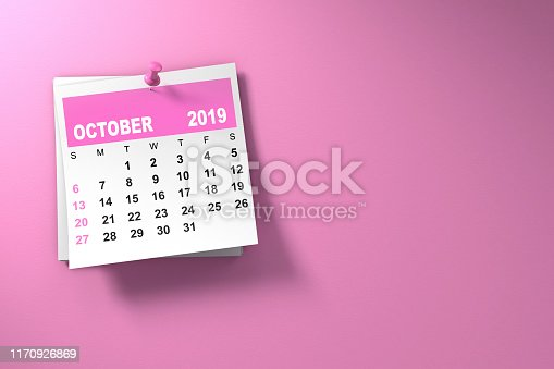 istock October Breast Cancer Awareness Month Pink 1170926869