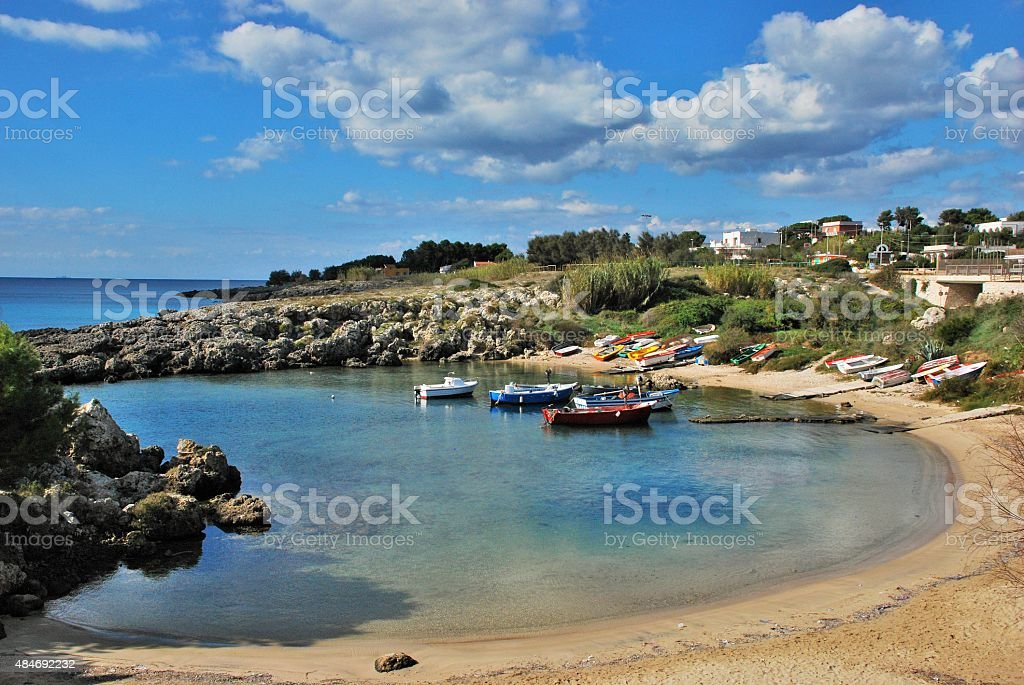 October by the Coast stock photo