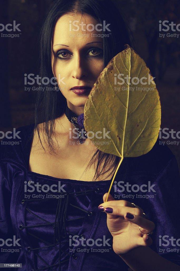 October mood royalty-free stock photo