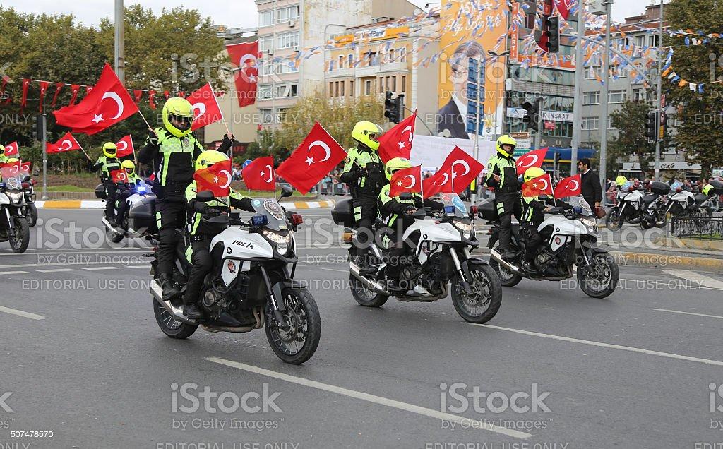 29 October Republic Day celebration of Turkey stock photo