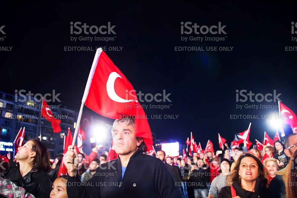 29 October Republic Day Celebration stock photo