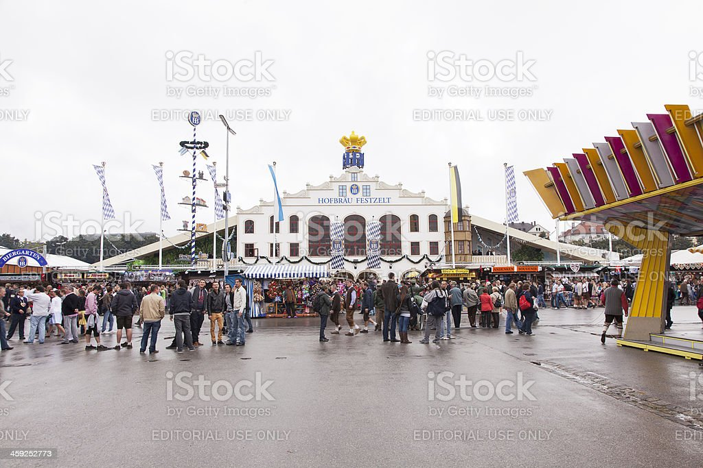 Octoberfest Area stock photo