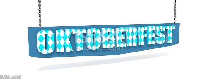 istock Octoberfest isometric text 842097272
