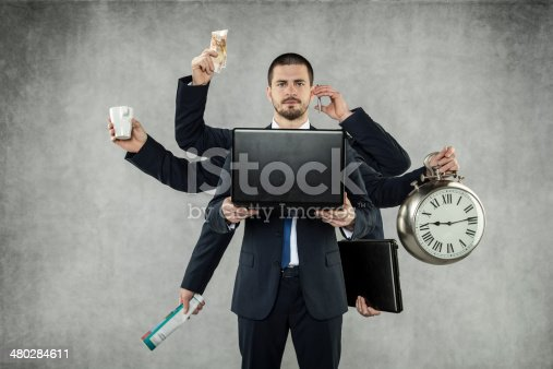 istock Octopus in Business 480284611