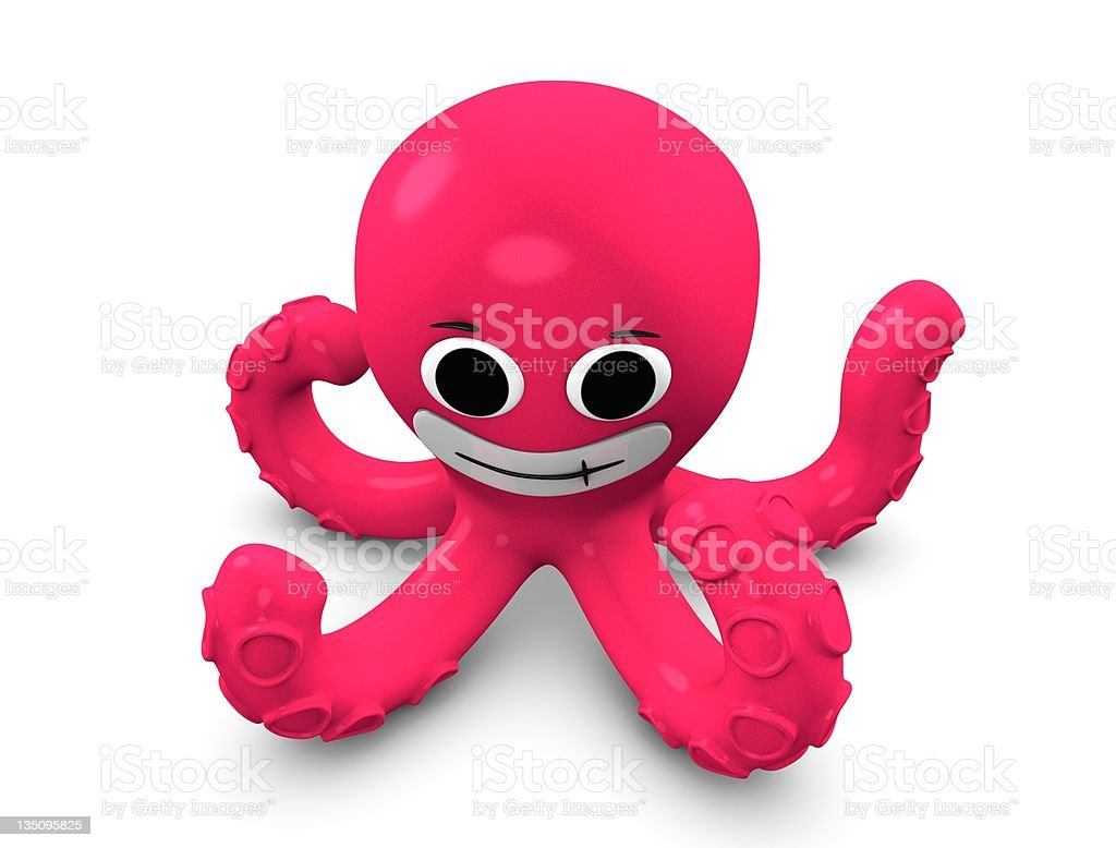 Octopus royalty-free stock photo