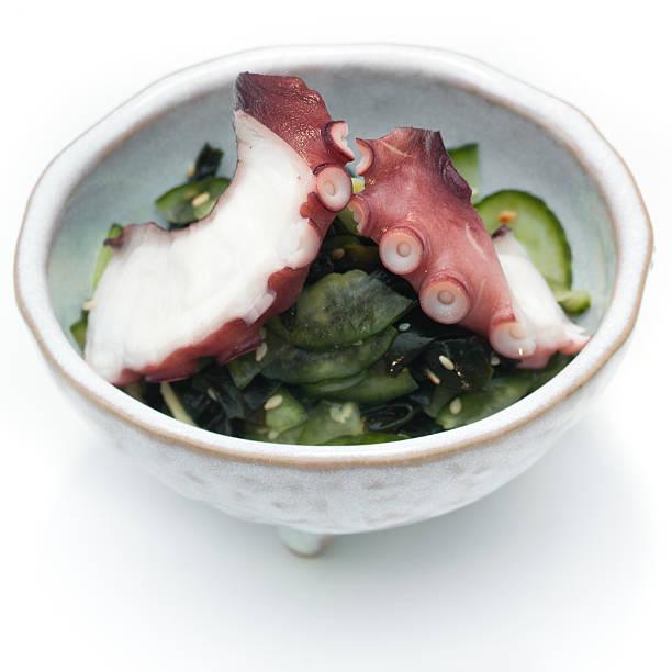 Krake sunomono-Salat – Foto