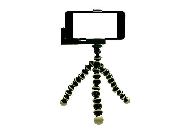 Octopus Tripod  with iphone 1 stock photo