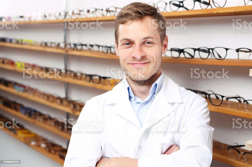 Oculist stock photo