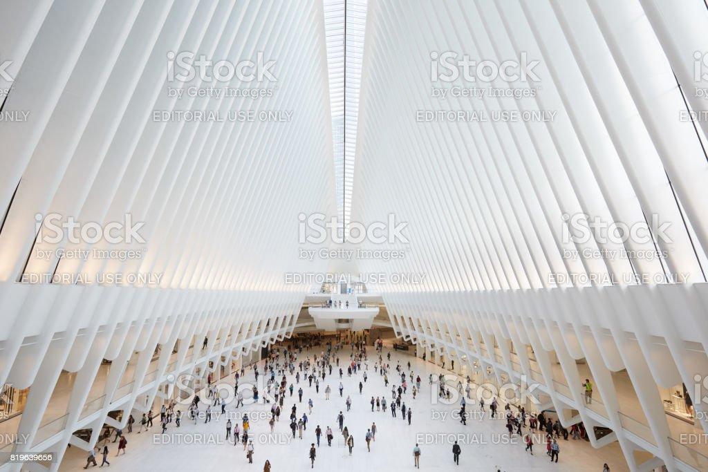 ニューヨークの人々 と白い世界...