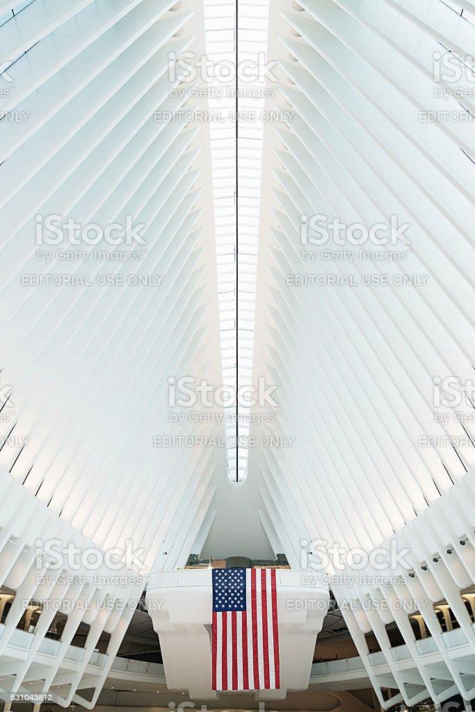 NYC Oculus New York City WTC Transportation Hub stock photo