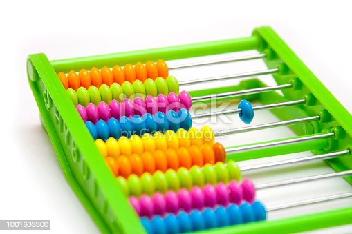 istock Odd one out - plastic abacus 1001603300