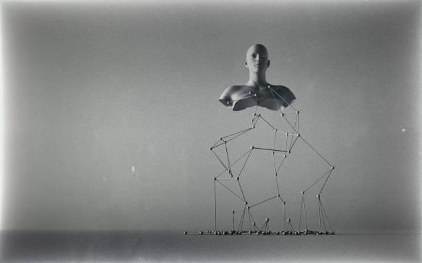 Étrange sculpture - Photo
