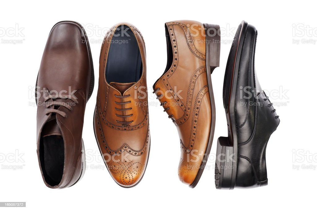 Odd Shoes... royalty-free stock photo