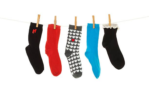 Odd Socks stock photo